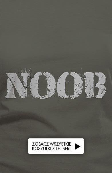 Koszulka z nadrukiem - NOOB