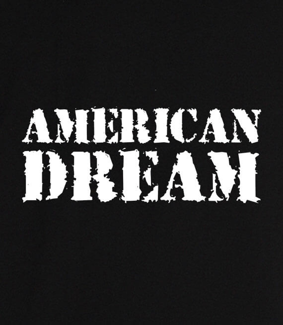 T-shirt z nadrukiem - American Dream
