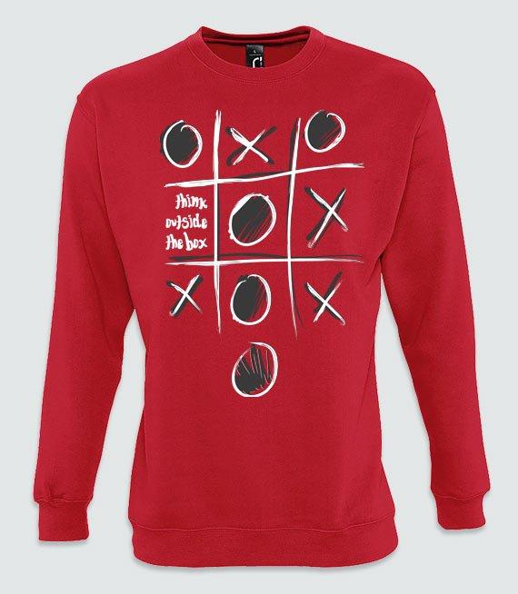 0dbeea8654fa46 Bluzy z nadrukiem - THINK OUTSIDE THE BOX - W sklepie internetowym  T-shirt.pl