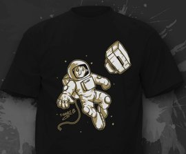T-shirt - Lost in space