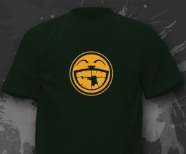 T-shirt z nadrukiem - Laughing Man