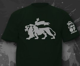 T-shirt z nadrukiem - Lion Of Judah 2