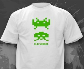T-shirt z nadrukiem - Old School