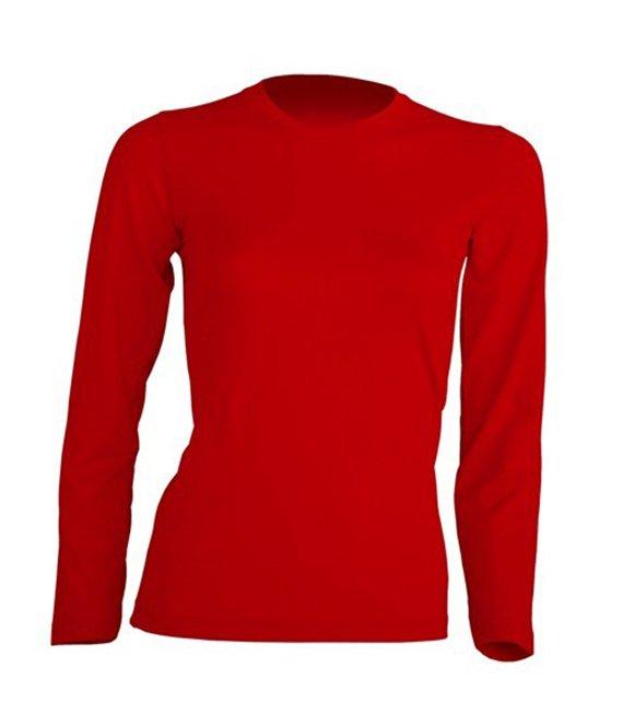 8fd83dde2640c6 Koszulka damska z długim rękawem biała - W sklepie internetowym T-shirt.pl