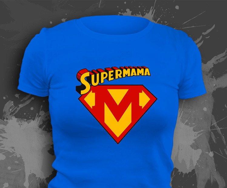 bae0c1c088 Koszulka z nadrukiem - Super Mama - W sklepie internetowym T-shirt.pl