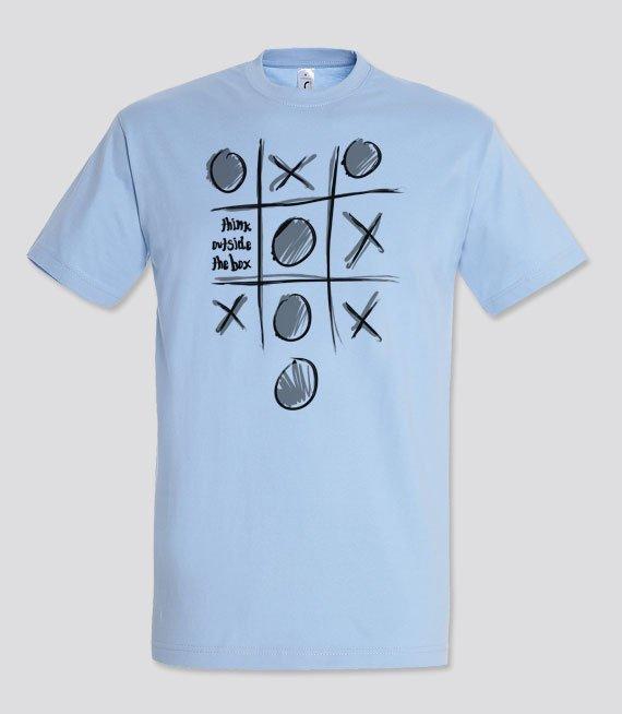 64119316f865e7 Koszulki z nadrukiem - Think outside the box - W sklepie internetowym  T-shirt.pl