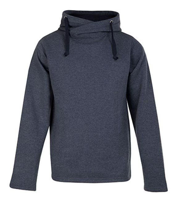 Bluza bez zamka z kapturem - Men`s Heather Hoody 60/40