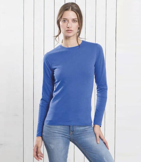 498c06039233bd Koszulki damskie z długim rękawem. - Serie produktów w sklepie ...
