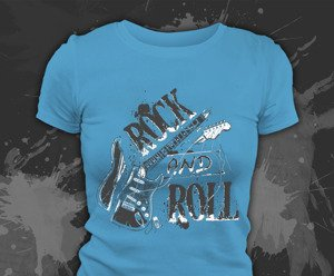 T-shirt z nadrukiem - ROCK AND ROLL 3
