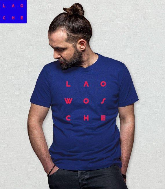 be2c2c62e Koszulka męska z nadrukiem - Lao Che #WOS