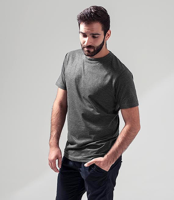 T-Shirt Męski - Round Neck