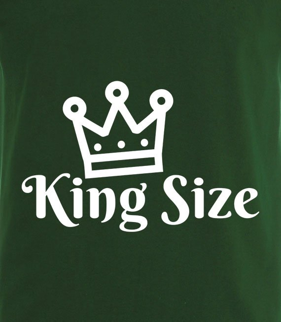 T-shirt z nadrukiem - - King Size 3xl-5xl