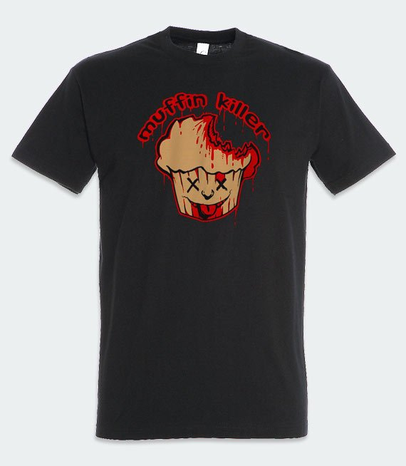 T-shirt z nadrukiem - Muffin Killer
