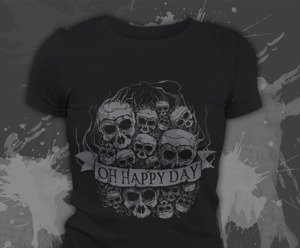 T-shirt z nadrukiem - Oh happy day