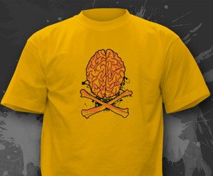 T-shirt z nadrukiem - PIRATE BRAIN